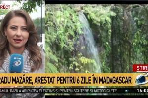 Șase zile de arest pentru Radu Mazăre, după ce a fost capturat în Madagascar