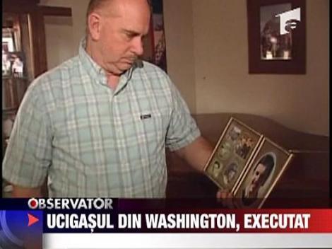 Ucigasul din Washington, executat