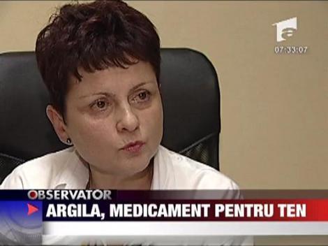 Argila, medicament pentru ten