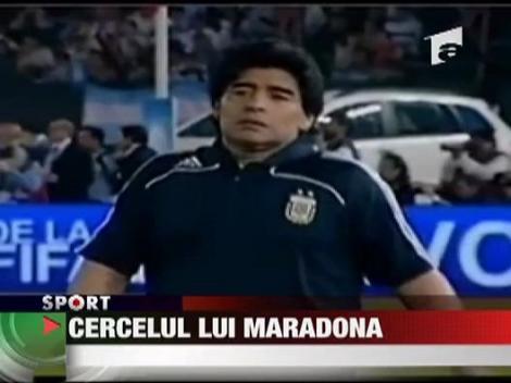 Cercelul lui Maradona