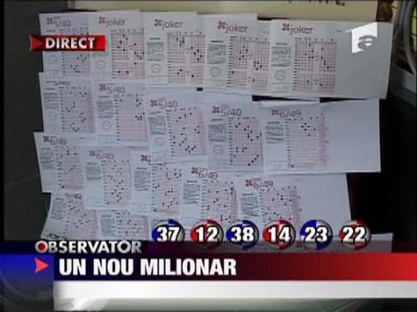 Milionul de euro de la Loteria Romana, in mainile castigatorului