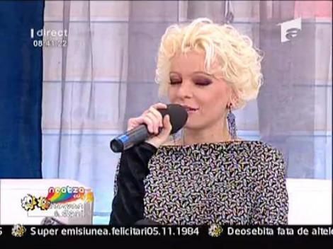 Silvia Pop despre hobby-ul ei, cantatul