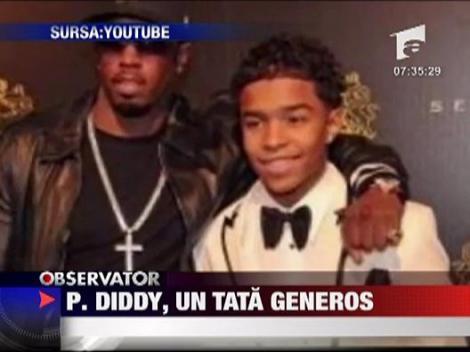 P.Diddy, un tata iubitor si generos