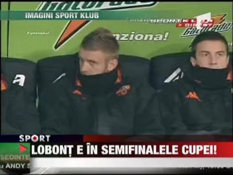 Lobont e in semifinalele Cupei Italiei