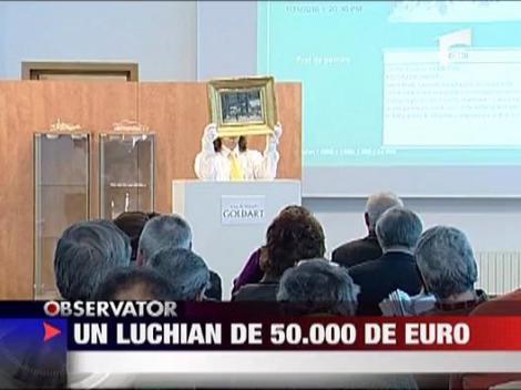 Tablou Stefan Luchian 50.000 de euro