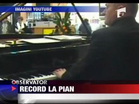Record mondial la pian