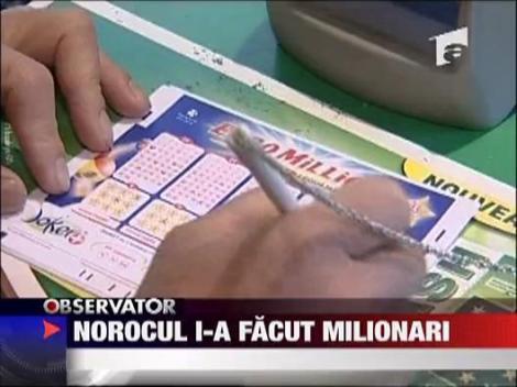 Euro-milionari peste noapte