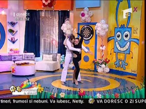 Sauvage & Alina - Numar de dans acrobatic