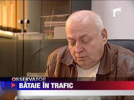 Bataie in trafic