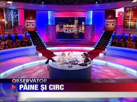 Paine si circ, noua emisiune a lui Lucian Mandruta