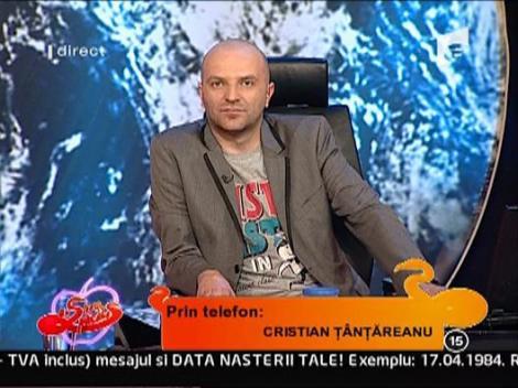 """Cristian Tantareanu, despre """"amanta"""" sa"""