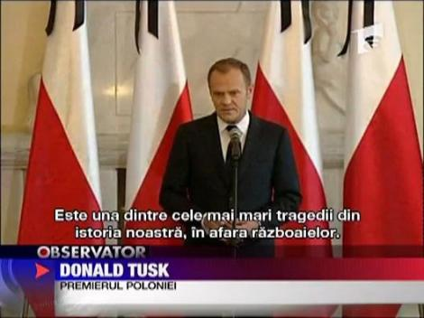 Polonia plange! Presedintele a murit intr-un accident aviatic!