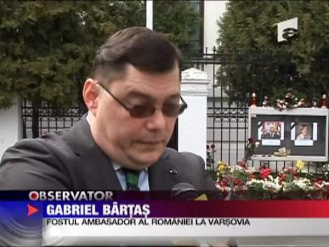 Familia din Romania a lui Lech Kaczynski