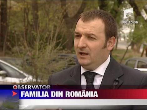 Familia din Romania a presedintelui polonez