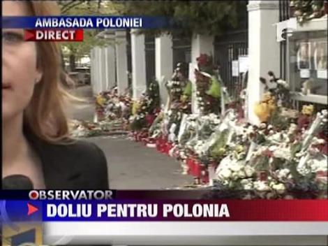 Duminica tinem doliu pentru Polonia