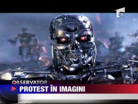 Protest in imagini