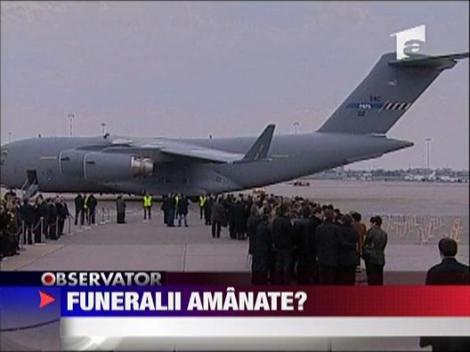 Funerariile poloneze, amanate?