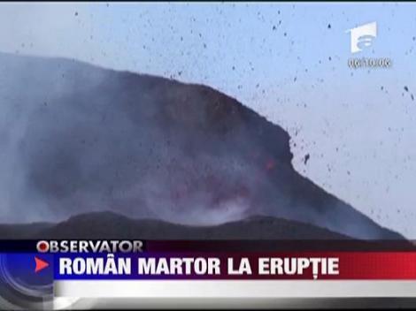 Roman martor la eruptie