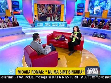 """Mioara Roman: """"Din politete nu m-as fi dus la botez"""""""