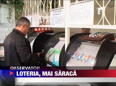 Loteria Romana mai saraca