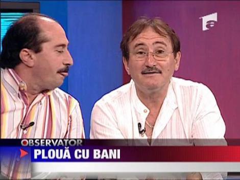 Romica Tociu si Cornel Palade pregatesc milioanele de euro pentru duminica