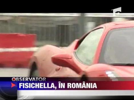 Fisichella, in Romania