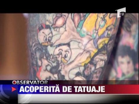 Cea mai tatuata femeie din lume