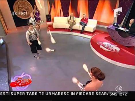 Numar de jonglerii inedite la Capatos