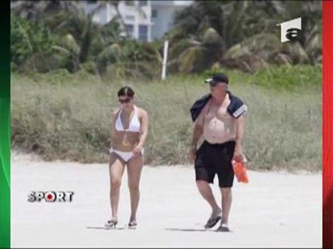 Ancelotti, la Miami cu Marina Cretu!