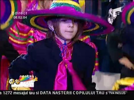 Copiii au dansat la Neatza, chiar de ziua lor!