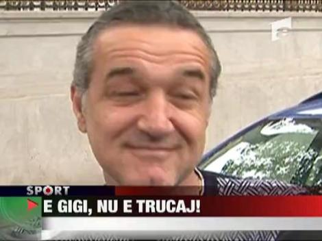 """Gigi Becali a amutit: """"NU mai vreau scandaluri"""""""