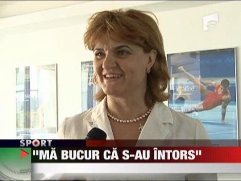 "Elisabeta Lipa: ""Ma bucur ca s-au intors Bellu si Bitang"""