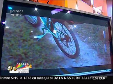 Prima bicicleta tunata din Romania