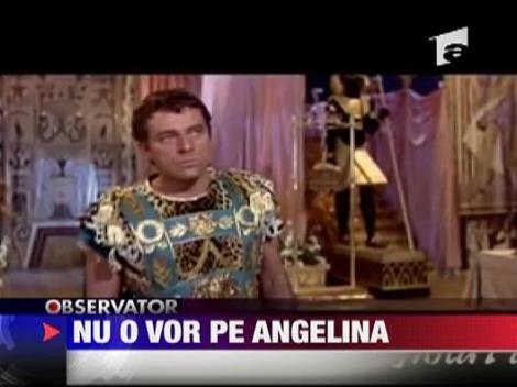 Nu o vor pe Angelina in rolul Cleopatrei