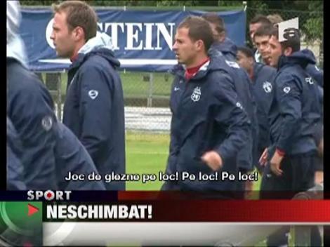Piturca a condus azi primul antrenament in Austria