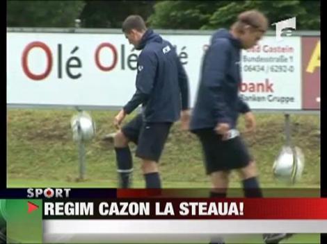 Regim cazon la Steaua