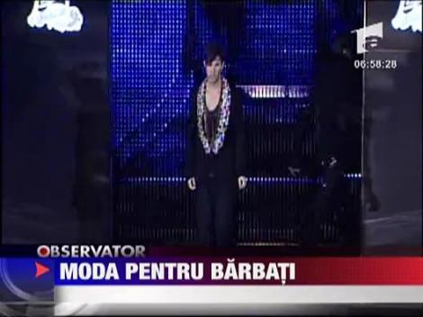 Moda pentru barbati marca Razvan Ciobanu si Irina Schrotter