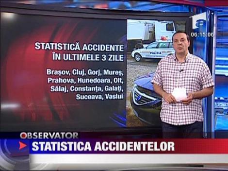 Statistica accidentelor si traficul din tara