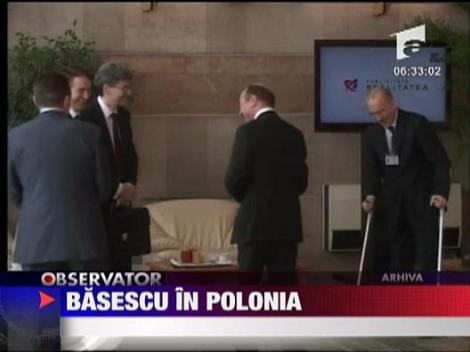 Basescu, vizita de stat in Polonia