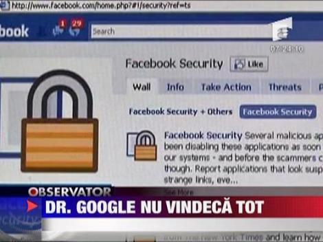 """Dr. """"Google"""" nu vindeca tot"""