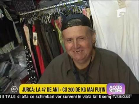 Stelian Jurca - la 47 de ani, cu 200 kg mai putin