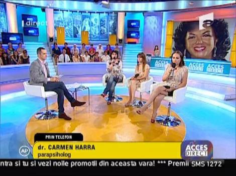 Carmen Harra - polemici mari cu celelalte specialiste de la Acces Direct