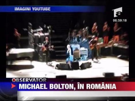 Michael Bolton concerteaza astazi in Constanta