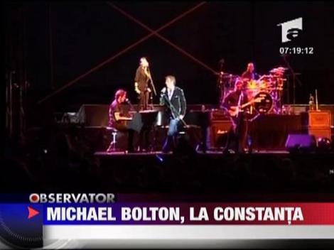 Michael Bolton a cantat la Constanta