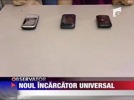 Noul incarcator universal pentru telefon