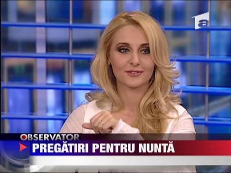 Alina Sorescu se pregateste de nunta