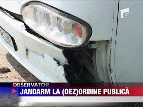 Jandarm la (dez)ordine publica