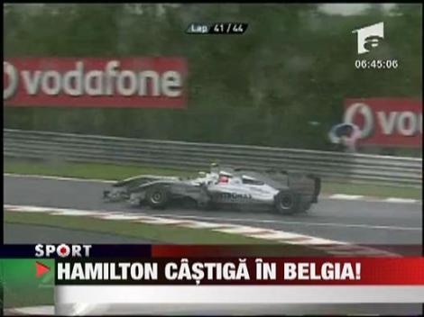 Hamilton a castigat in Belgia