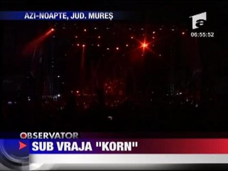 "Sub vraja ""Korn"""