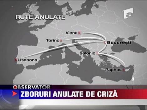 Curse aeriene anulate de criza